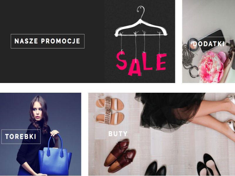 Realizacja e-sklepu z odzieżą.